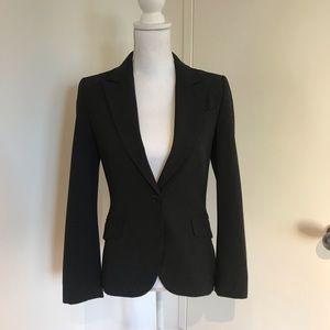 Zara dark grey blaze with front pocket